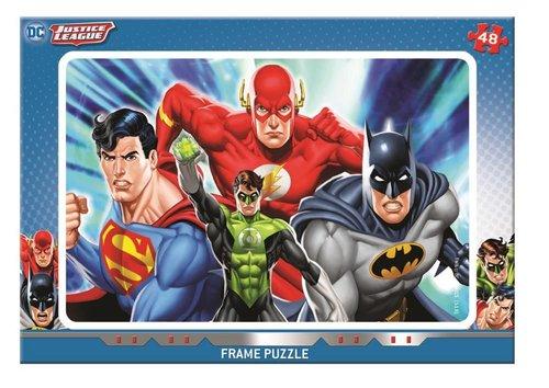 Mabbels Çocuk Puzzle 48 Parça Justice