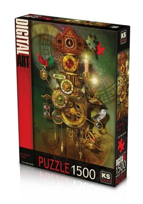 Ks Games It's About Time 1500 Parça Puzzle