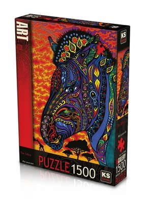 Ks Games 1500 Parça - The Zebra