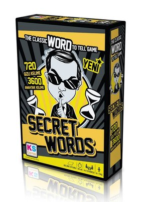 Ks Games Kutu Oyunu - Secret Words