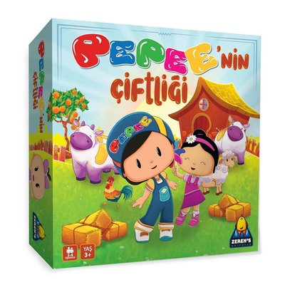 Zerens Uni - Pepe'nin Çiftliği Kutu Oyunu