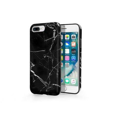 ttec ArtCase iPhone 7 ve 8 Plus Siyah Mermer Desenli Kılıf