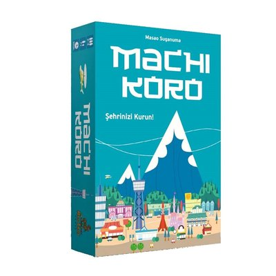 Troy Kutu Oyun Games Machi Koro