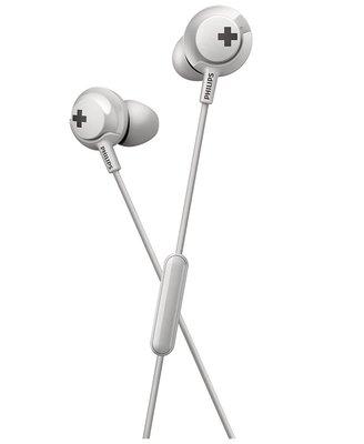 Philips SHE4305 Mikrofonlu Beyaz Kulak İçi Kulaklık