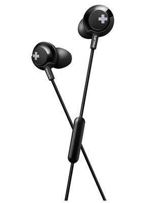 Philips SHE4305BK Mikrofonlu Siyah Kulak İçi Kulaklık