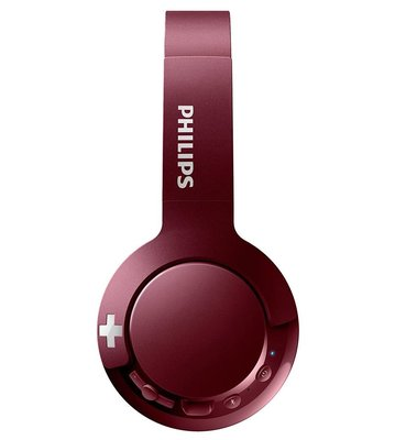 Philips SHB3075RD Wireless Bluetooth Kırmızı Kulaklık