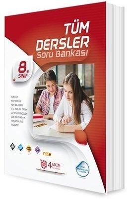 4 Adım 8.Sınıf Tüm Dersler Soru Bankası