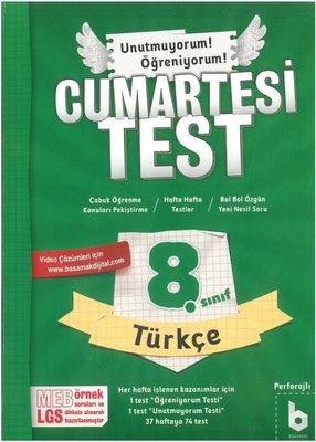 Basamak 8.Sınıf Cumartesi Test Türkçe