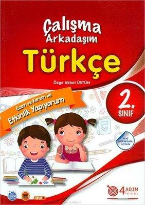 4 Adım 2.Sınıf Türkçe Çalışma Arkadaşım