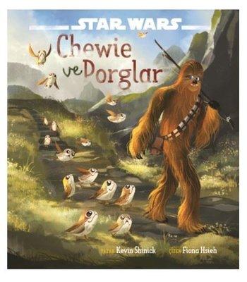Star Wars-Chewie ve Porglar