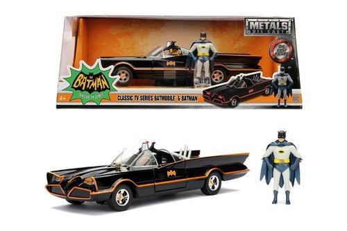Simba - Jada 1-24 Batman 1966 Classic Batmobile