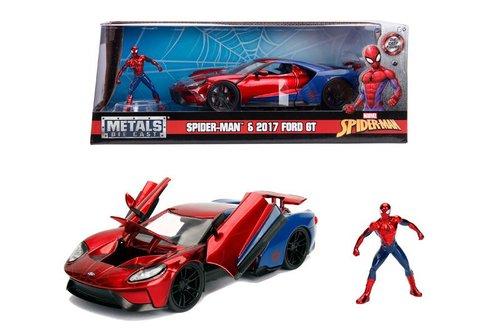 Simba - Jada 1-24 Marvel Spiderman 2017 Ford GT