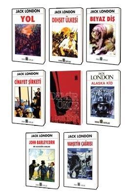 Jack London Klasikleri Seti 2-8 Kitap Takım