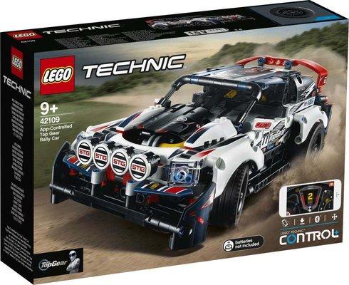 Lego-Technic App-Controlled Top Gear Rally Car 42109