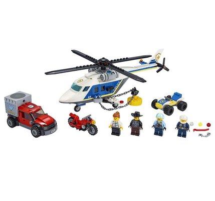 Lego City 60243 Polis Helikopteri Takibi Yapım Seti