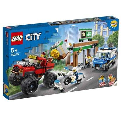 Lego City Polis Canavar Kamyon Soygunu 60245