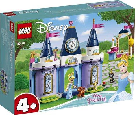 Lego Disney Sindirella'nın Şato Kutlaması 43178