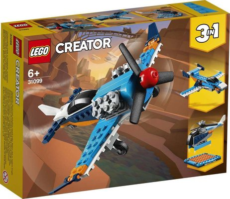 Lego Creator 3ü 1 Arada Pervaneli Uçak 31099