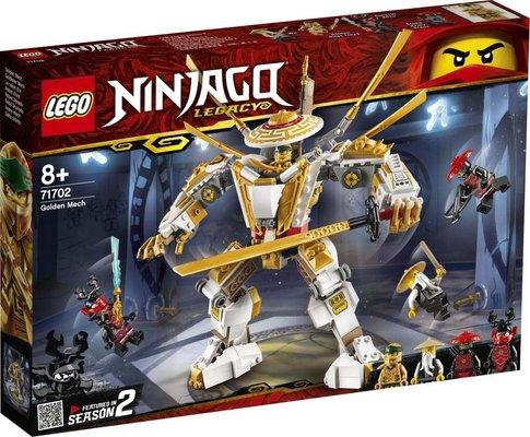 Lego Ninjago Legacy Altın Robot 71702
