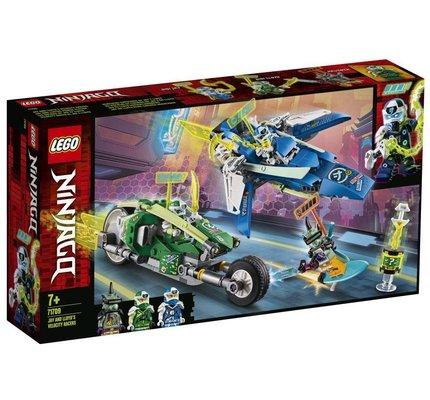 Lego Ninjago Jay ve Lloyd'un Hızlı Yarışçıları 71709
