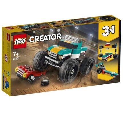 Lego Creator 3ü 1 Arada Canavar Kamyon 31101