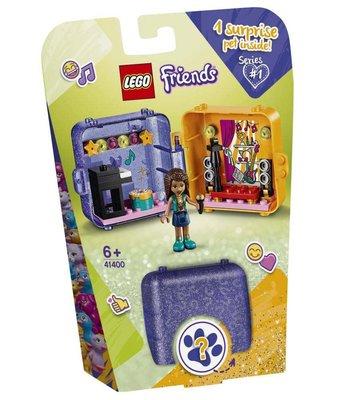 Lego Friends Andreanın Oyun Küpü 41400