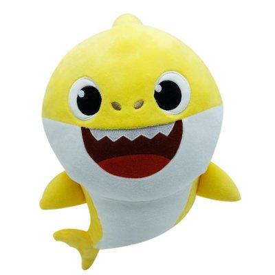 Baby Shark Sesli Bebek Peluş-Pfss-08001-01