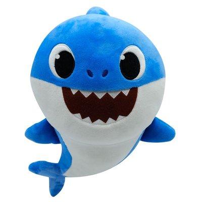 Baby Shark Sesli Baba Peluş-Pfss-08003-01