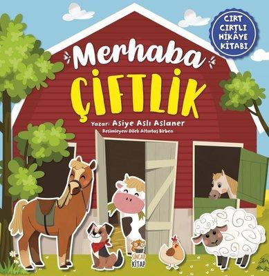 Merhaba Çiftlik-Cırt Cırtlı Hikaye Kitabı