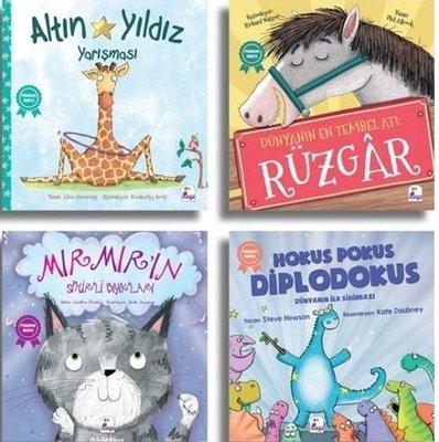 Set 1 Pedagog Onaylı Hikayeler-4 Kitap Takım