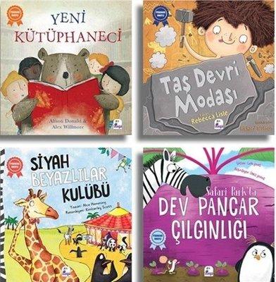 Set 2 Pedagog Onaylı Hikayeler-4 Kitap Takım