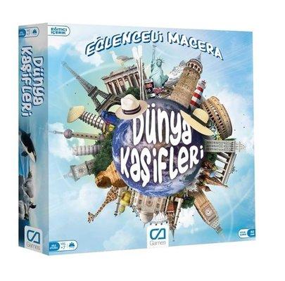 Ca Games - Dünya Kaşifleri Eğlenceli Macera Kutu Oyunu 5104