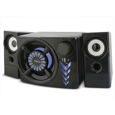 Mikado MD-219BT 2+1 10W+3Wx2 Siyah Usb + Tf Kart + Bluetooth Speaker