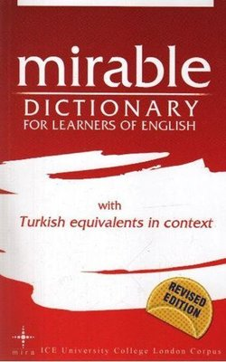 Mirable Dictionary For Learners Of Englısh