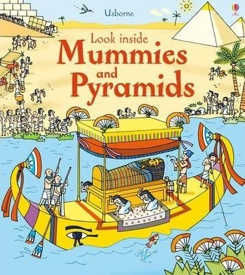 Look Inside Mummies & Pyramids: 1