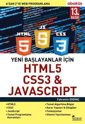 Yeni Başlayanlar İçin HTML5 CSS3 & Javascript