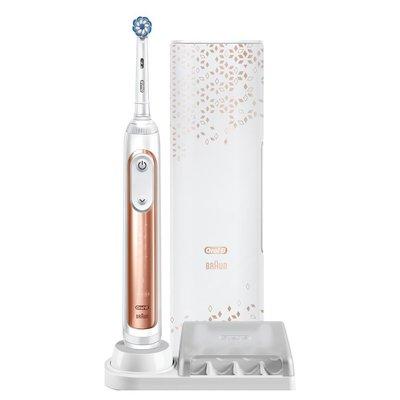 Oral-B Genius X 20000 AI Şarjlı Diş Fırçası Rose Gold