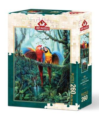 Art Puzzle 260 Parça Ormanda Aşk 5022