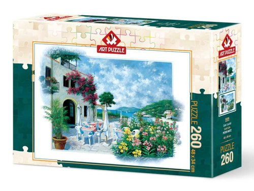 Art Puzzle 260 Parça Sahil Kafe 5026