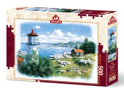 Art Puzzle 500 Parça Kıyıdaki Fener 5076