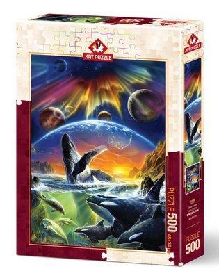 Art Puzzle 500 Parça Orka Evreni 5085