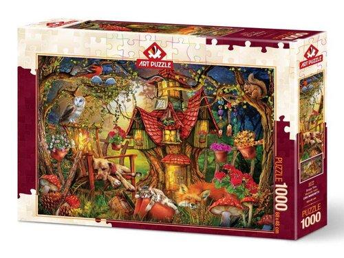 Art Puzzle 1000 Parça Miskinlik Vakti 5177