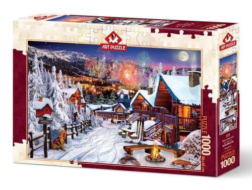 Art Puzzle 1000 Parça Kış Eğlencesi 5183