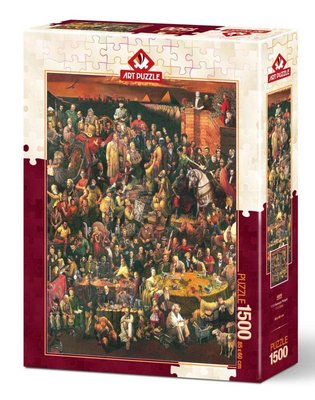Art Puzzle 1500 Parça  113 Ünlü 4000