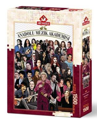 Art Puzzle 1500 Parça  Anadolu Müzik Akademisi 4586
