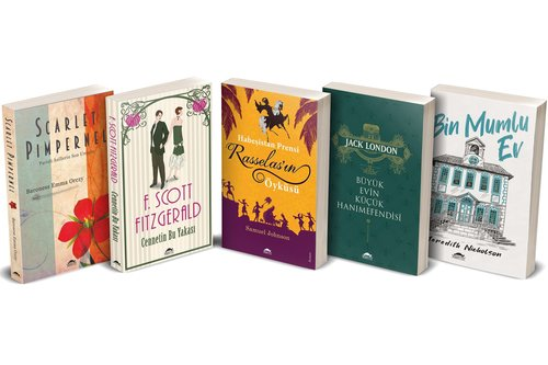 Klasik Edebiyat Seti 1 - 5 Kitap Takım