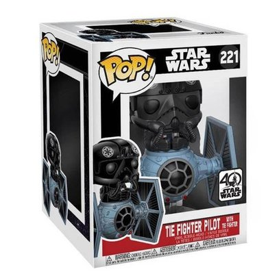 Funko Figür POP Deluxe Star Wars Tie Fighter W.Pilot