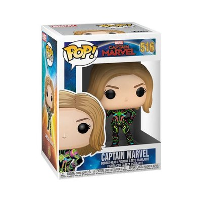Funko Figür POP Captain Marvel W.Neon Suit