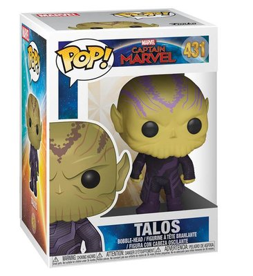 Funko Figür POP Captain Marvel Talos