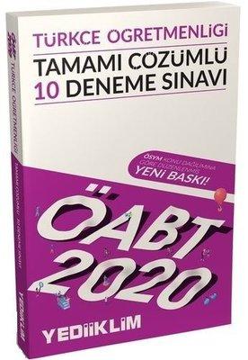 2020 KPSS ÖABT Türkçe Öğretmenliği Tamamı Çözümlü 10 Deneme Sınavı